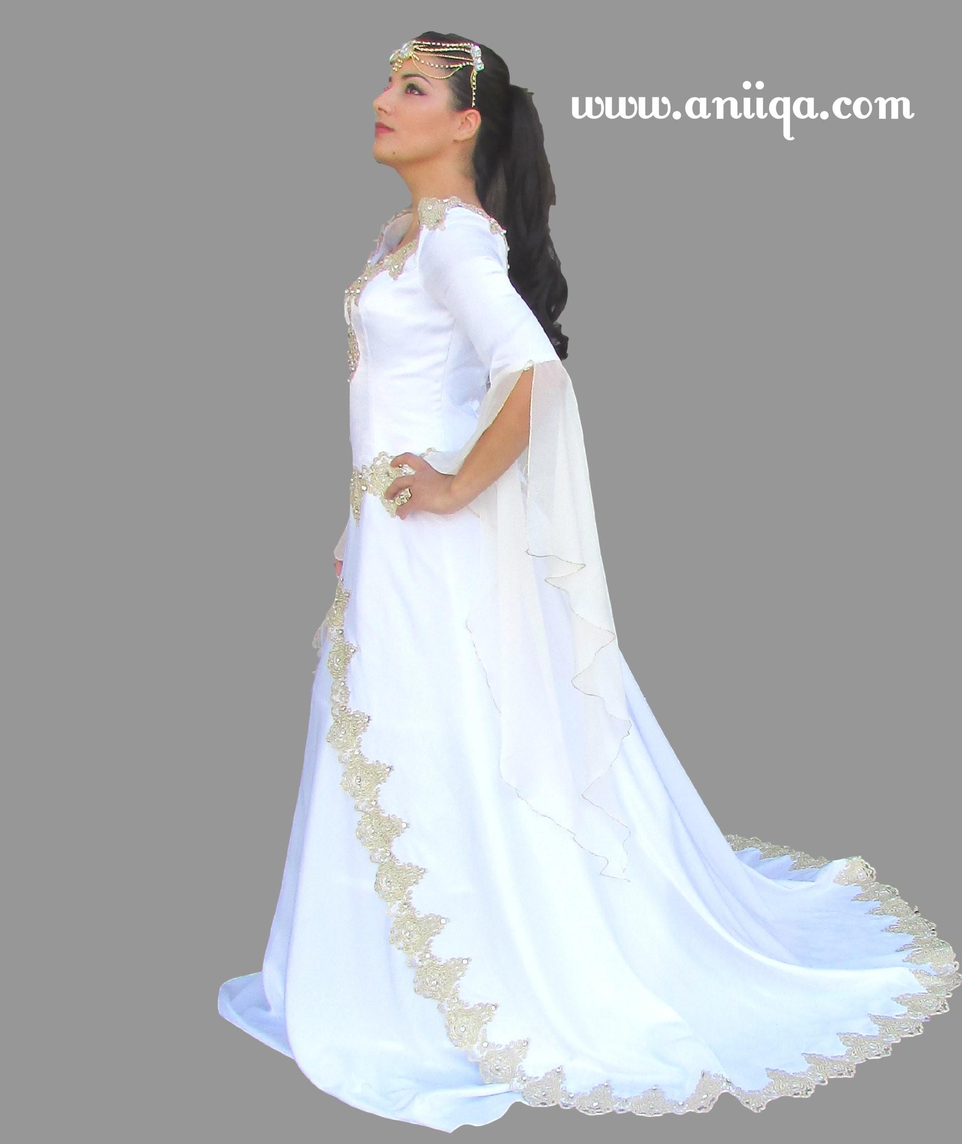 Robe De Mariee Arabe Et Musulmane Orientale Pas Cher