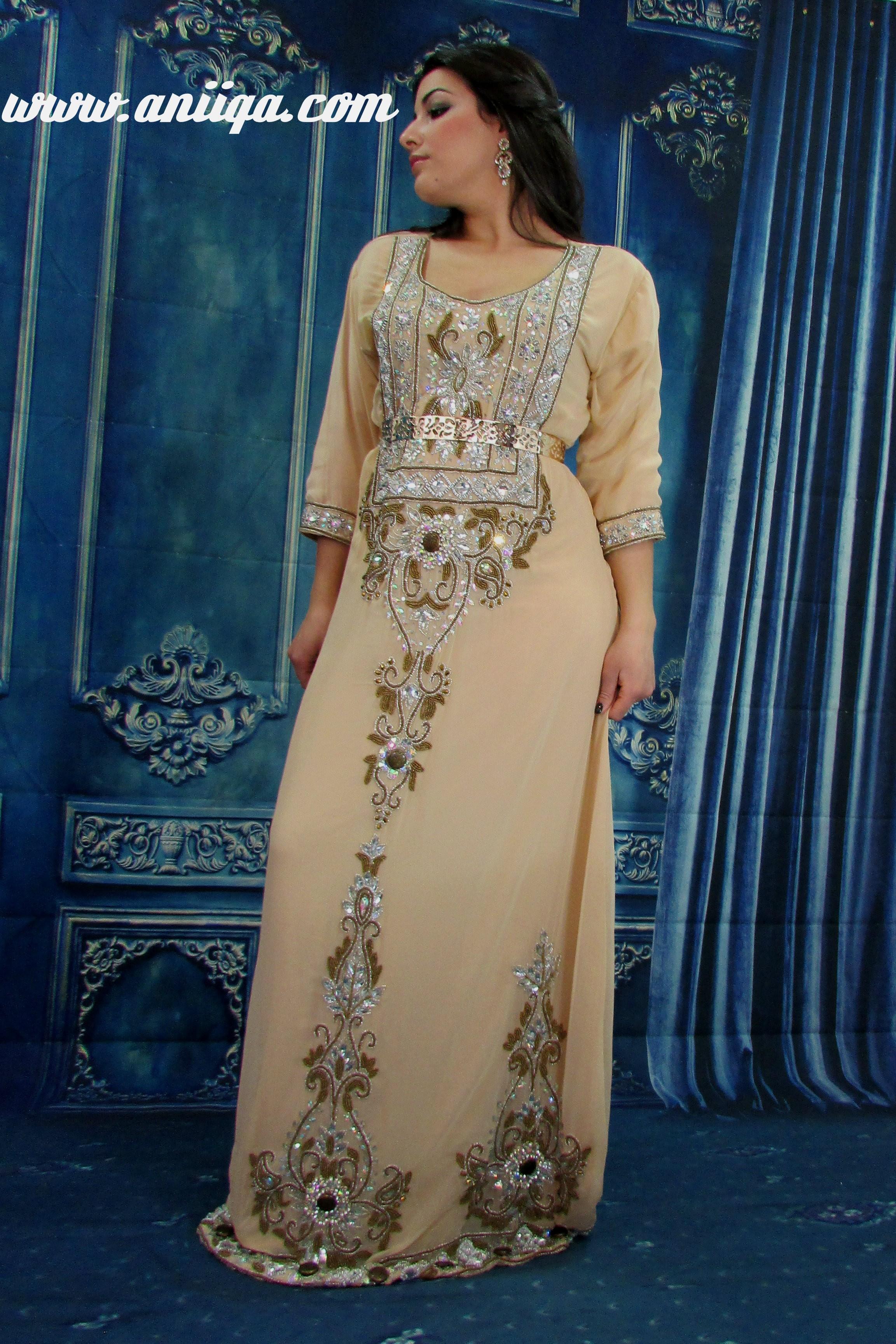 Robe de soiree orientale haute couture paris