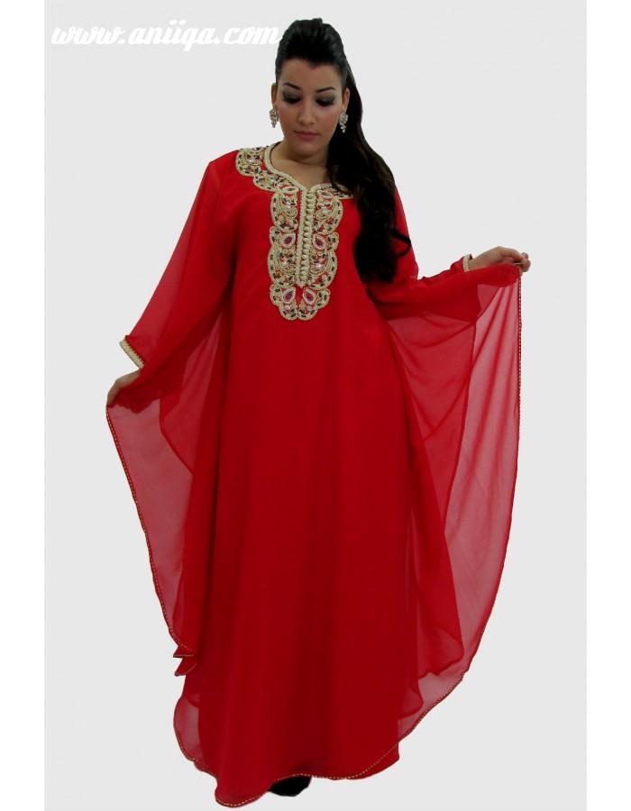 robe marocaine faracha orientale 2016 pas cher en ligne. Black Bedroom Furniture Sets. Home Design Ideas