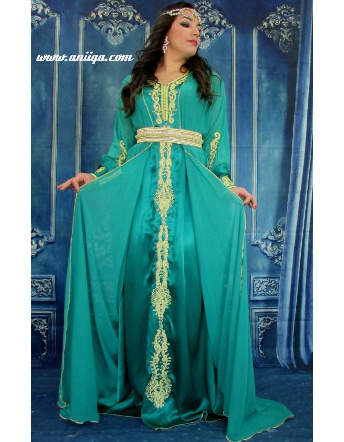 Fabuleux caftan Robe de soirée orientale tendance modele 2018/2019, caftan #TL_94