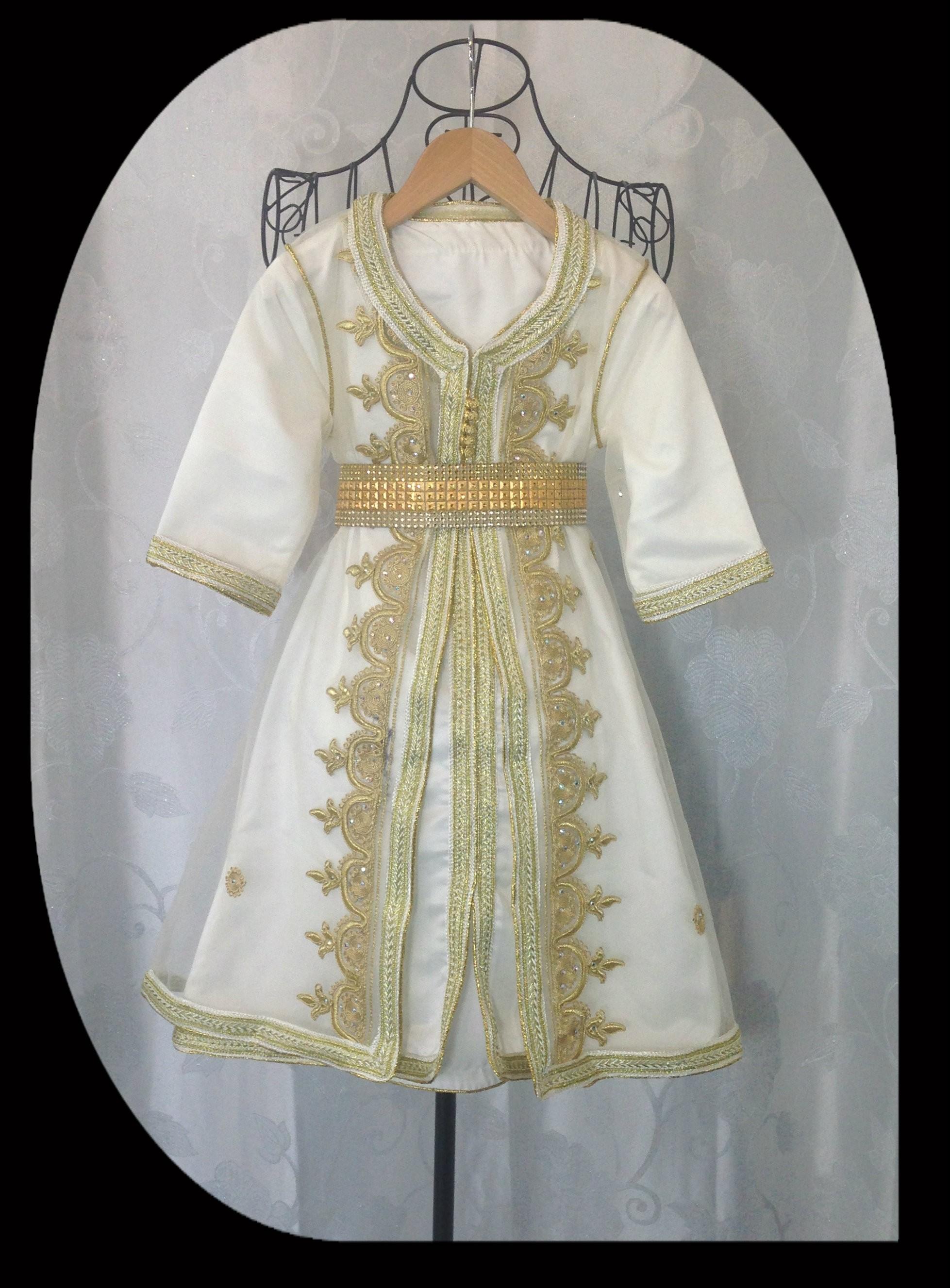 Robe de soirée orientale pour petite fille , aniiqa.com
