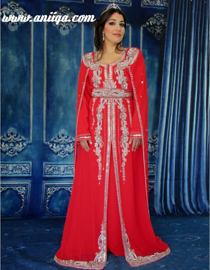 4ae87b47fca Robe soiree rouge argent – Robes de soirée populaires en France
