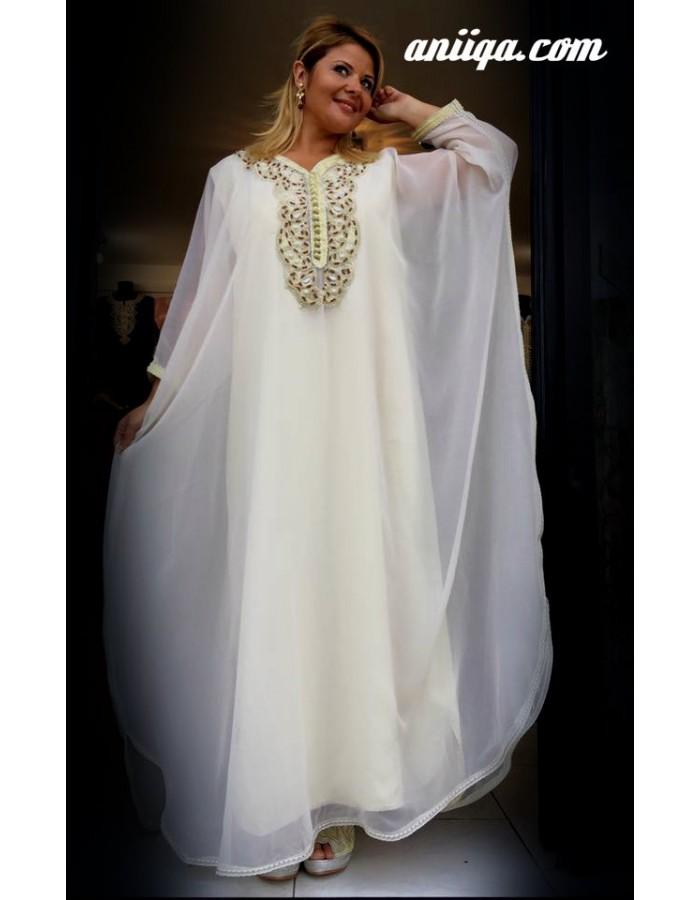 robe orientale blanche pour mariage pas cher. Black Bedroom Furniture Sets. Home Design Ideas