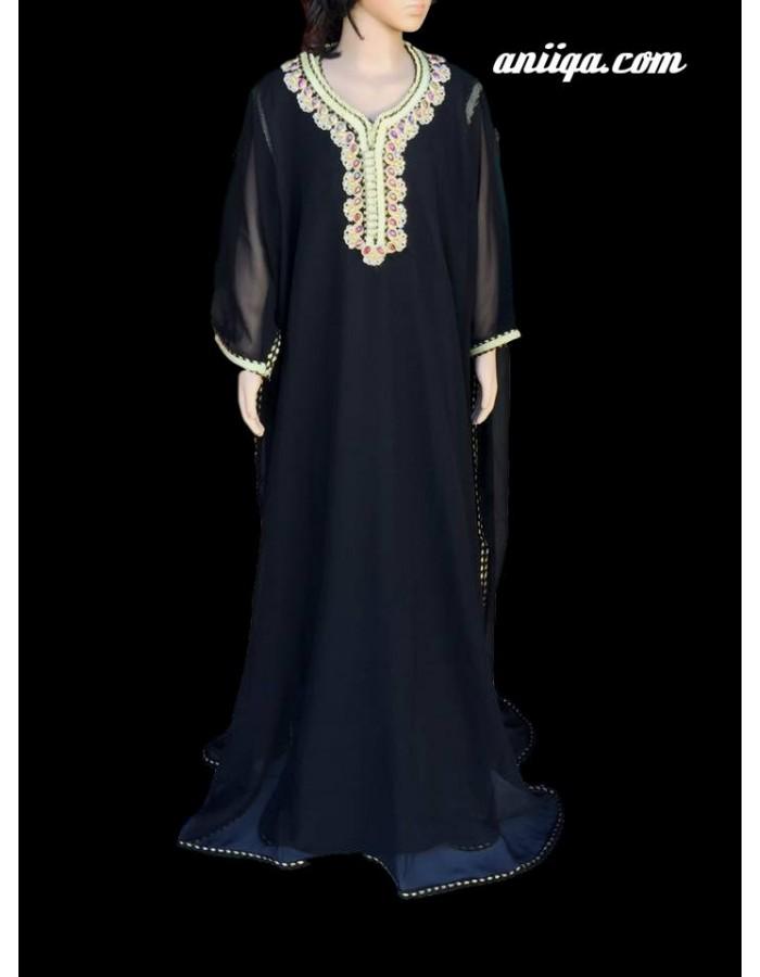 Robe Orientale Marocaine Pour Jeune Fille Aniiqa Com