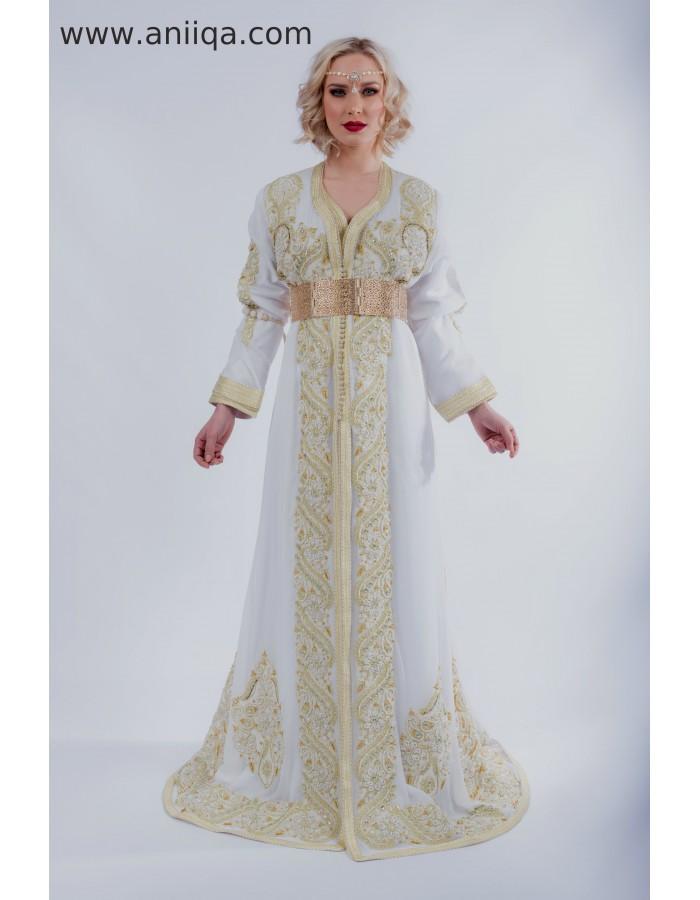 Robe Mariage Vert Et Blanc Robes De Soiree Elegantes 2019