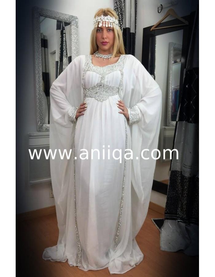 Robe Orientale Mariage Blanche Robe Arabe Mariage Robe