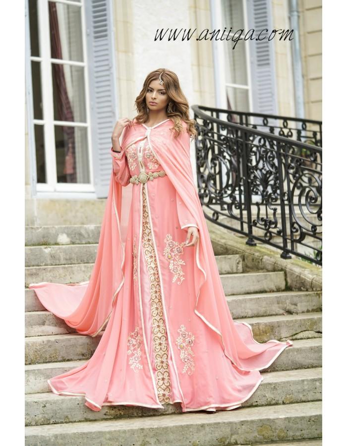 Caftan marocain 2018 caftan de mari e 2018 for Boutique de location de robe de mariage dubai