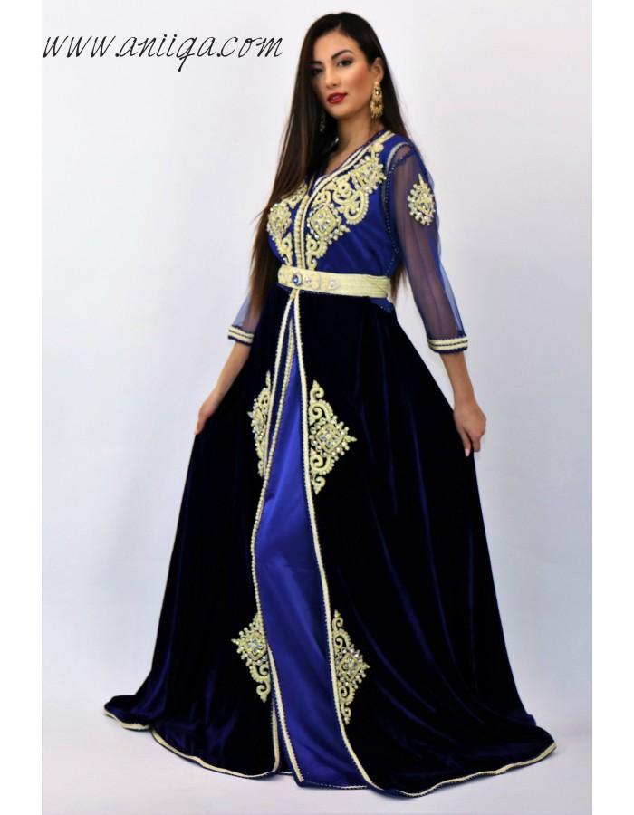 caftan marocain en ligne pas cher robe orientale moderne. Black Bedroom Furniture Sets. Home Design Ideas