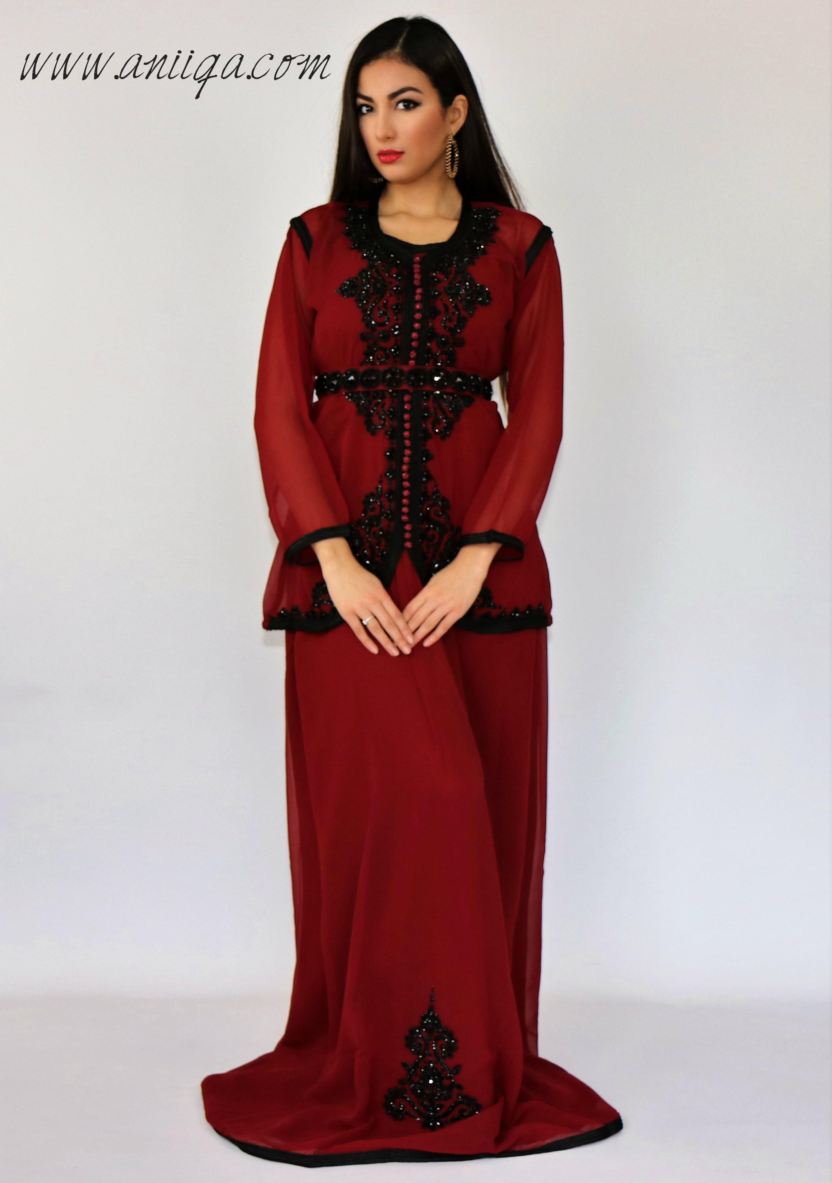 Robe de soiree orientale grande taille pas cher
