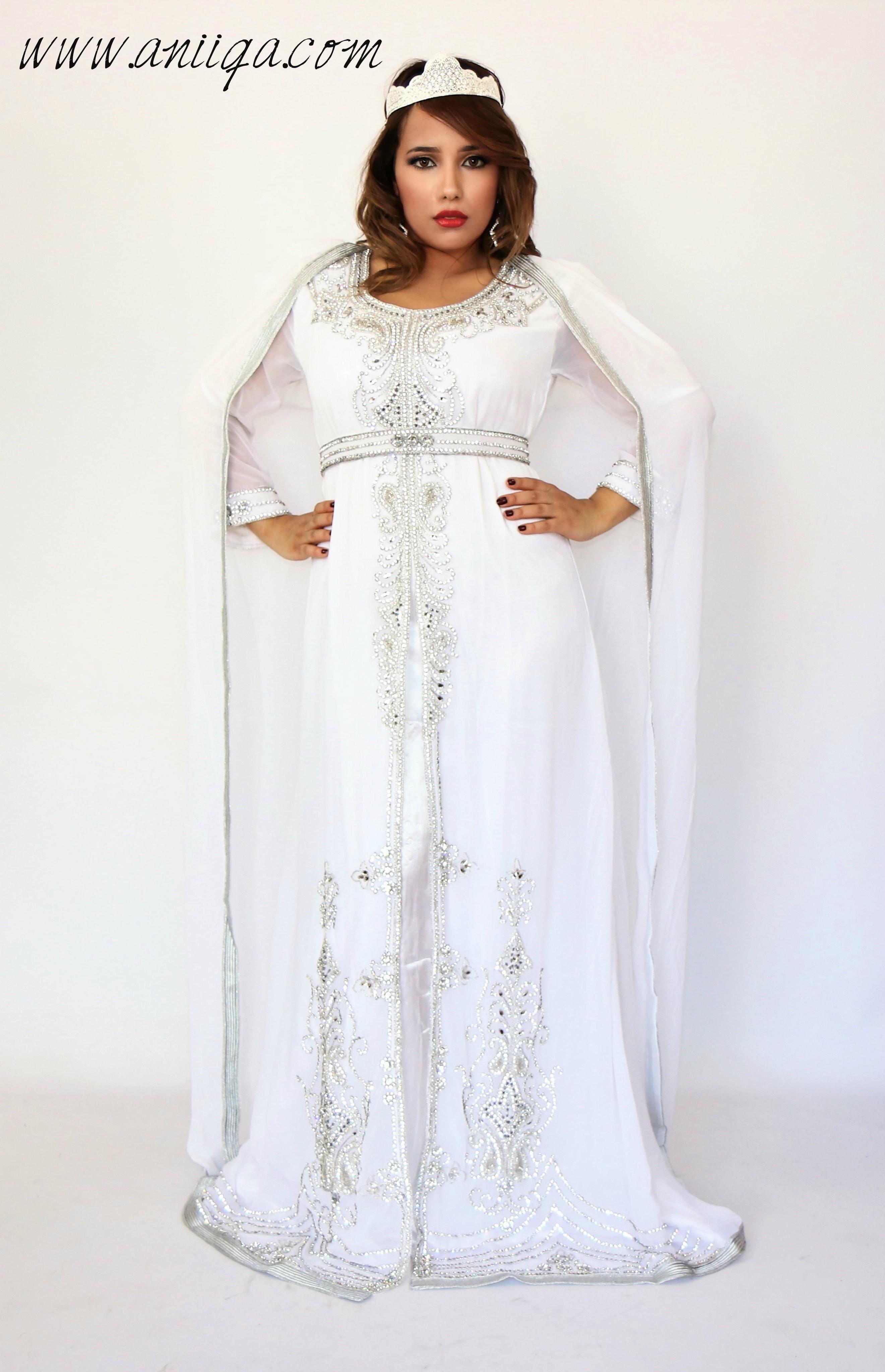 Robe de soiree pour mariee orientale