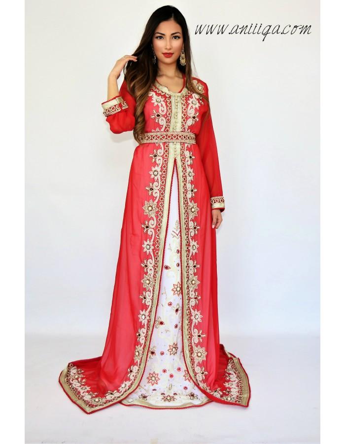 robe orientale mariage, robe arabe mariage , caftan en ligne