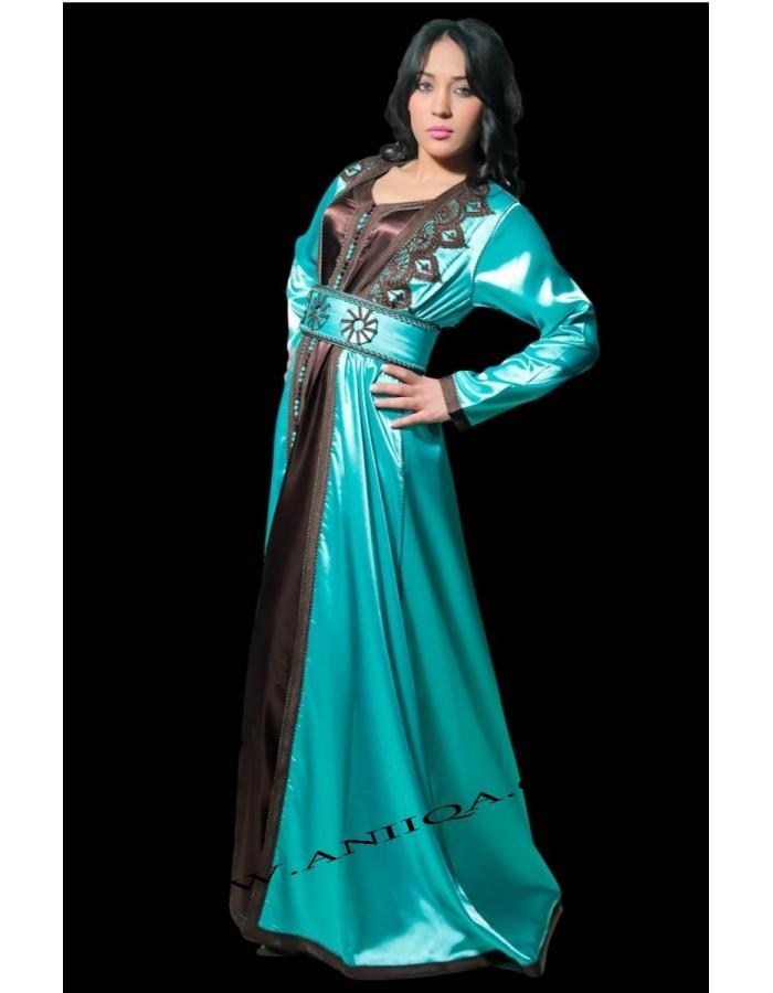 acheter caftan marocain en ligne pas cher caftan et robe. Black Bedroom Furniture Sets. Home Design Ideas